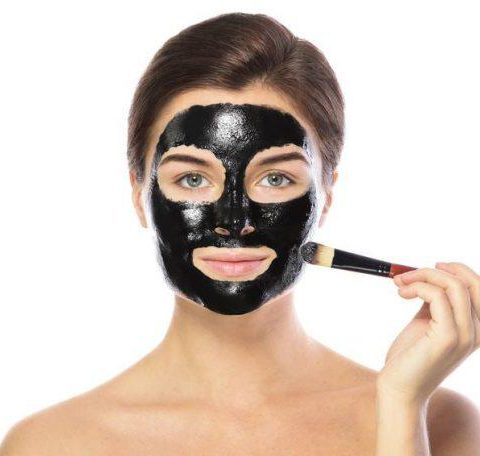 Black face mask for blackheads – my recipe