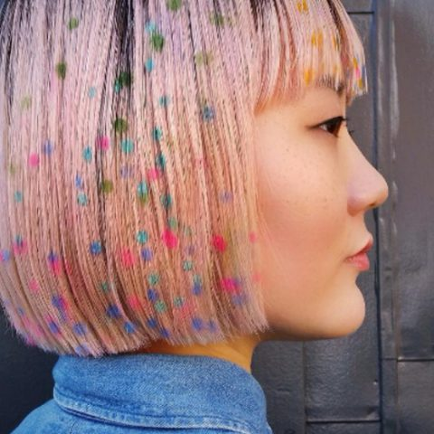 Your everyday party style – Confetti Hair