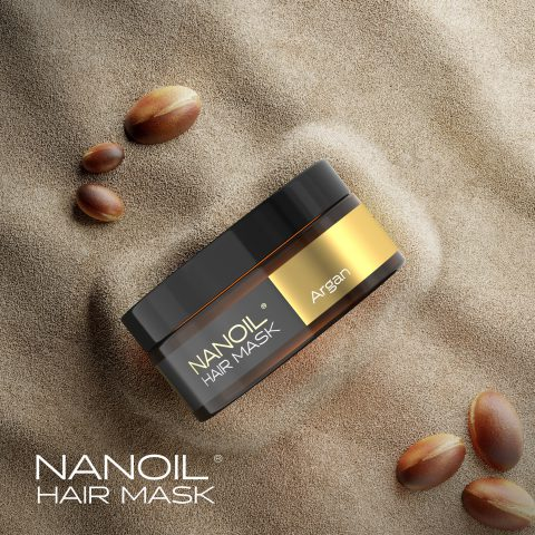 NANOIL hair mask with argan. Review, comments, benefits